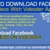 How To Download Facebook Videos With Videoder App