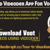 Download Videoder App For Voot Videos