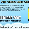 Download Voot Videos Using Videoder App