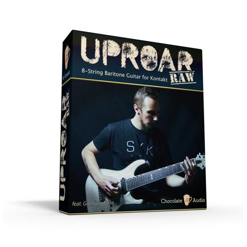 Uproar RAW - 8 String Baritone Guitar for Kontakt