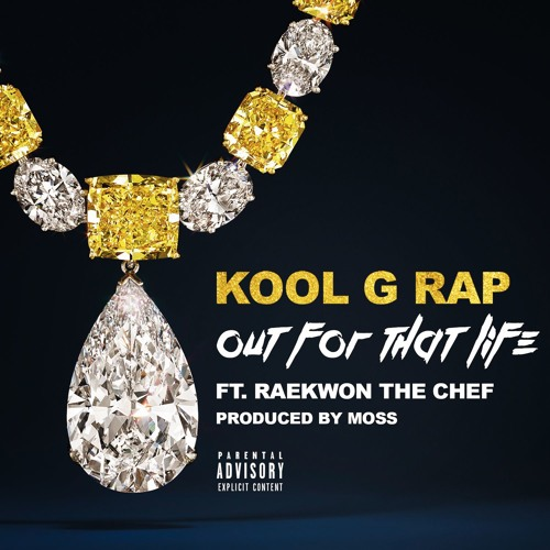"""Kool G Rap feat. Raekwon """"Out For That Life"""" (produced by MoSS)"""