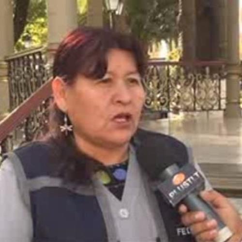 Nancy Ordoñez - Representante FEDJUVE Tarija