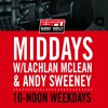 The Midday Rush w/@LachTalk @TheOnlySweeney- Wednesday May 10- Hour 2
