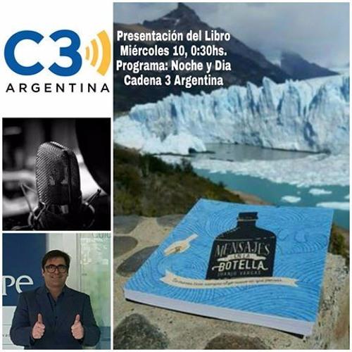 JUANJO VARGAS - Entrevista en Cadena 3 por el Libro Mensajes en la Botella