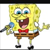 Spongebob is singing a song about Miku