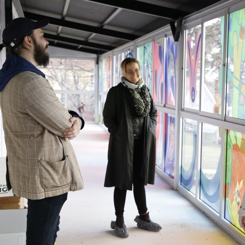 När två konstnärers världar möts