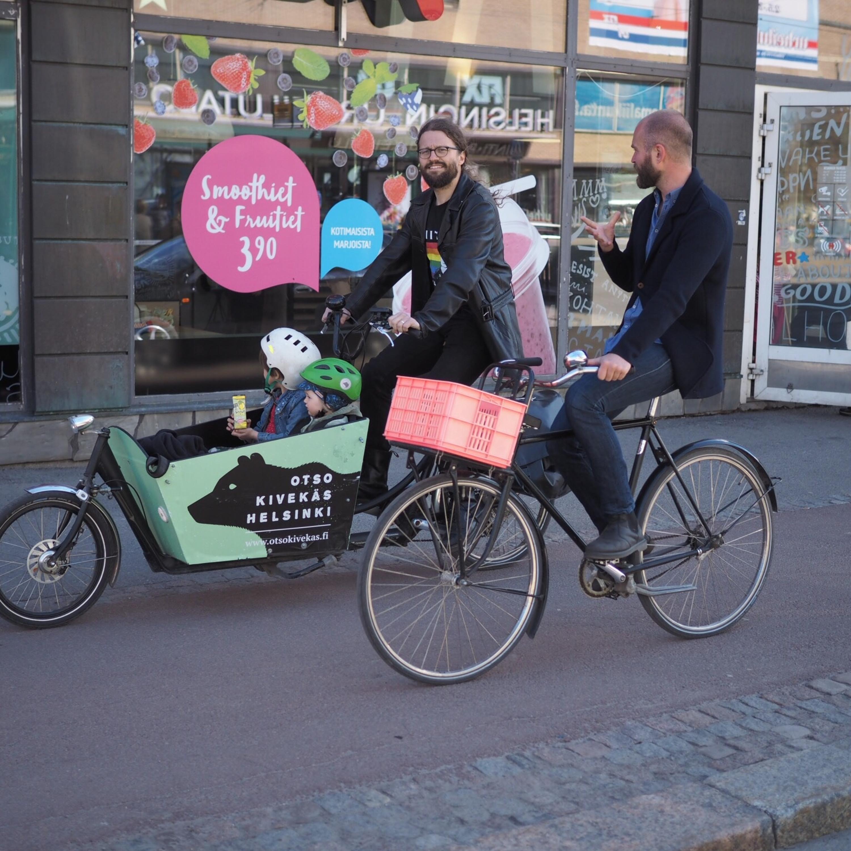 Avsnitt 7 Cykling i Helsingfors