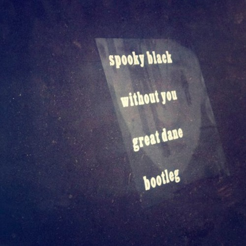 spooky black - without you (great dane bootleg)