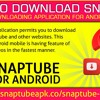 How to download SnapTube video downloading application for android mobile?.mp3