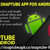 Download SnapTube app for Android devices .mp3