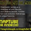 Download SnapTube APK for Android .mp3