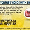 Download YouTube videos with SnapTube app.mp3