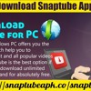 How To Download SnapTube App For PC