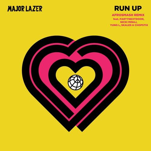 Major Lazer - Run Up (feat. PARTYNEXTDOOR, Nicki Minaj, Yung L, Skales &  Chopstix)