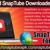 Download SnapTube Downloader For MAC