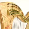 Telor 34 String Folk Lever Harp - Over The Sea To Skye