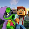 Minecraft Story Mode vs Plants vs Zombies Heroes. Epic Rap Battles of Botany.