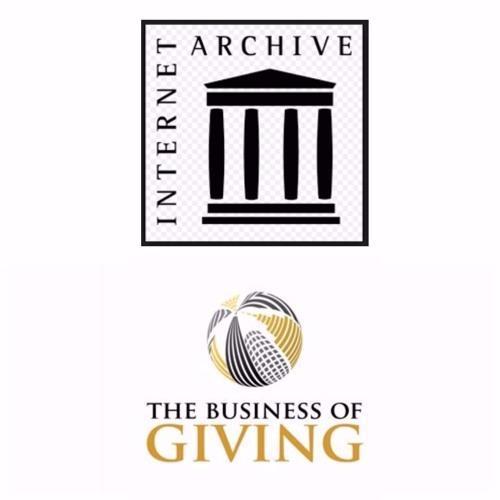 Internet Archive's Founder& Digital Librarian, Brewster Kahle; Wendy Hanamura, Dir. of Partnerships