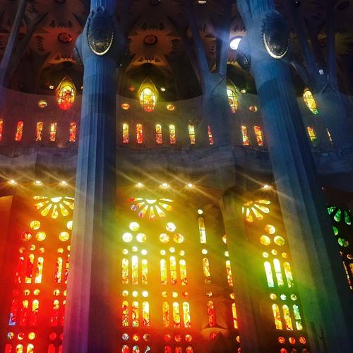 "Sagrada Familia  ""Stained Glass"" mvt 3"