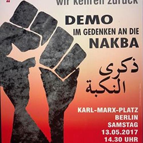 BDS Berlin - Nakba - Tag Demonstration Berlin 2017.mp3