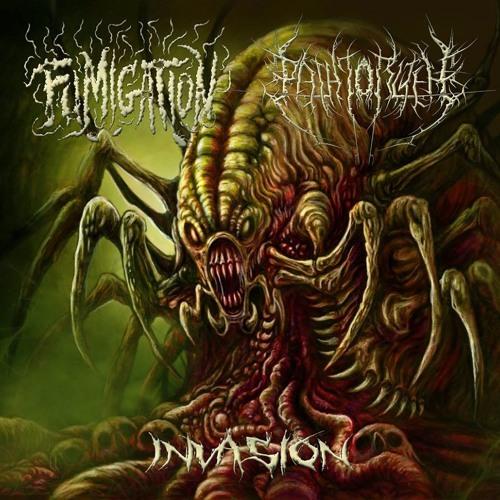 """""""Invasion"""" Split CD singles"""