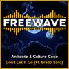 Anikdote & Culture Code - Don't Let It Go (Ft. Brado Sanz)