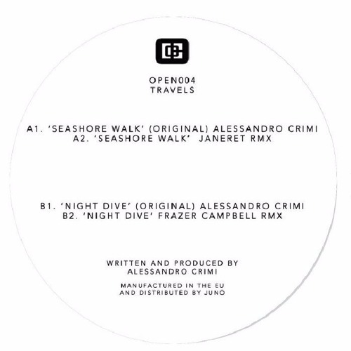 Alessandro Crimi - Seashore Walk (Janeret Remix)