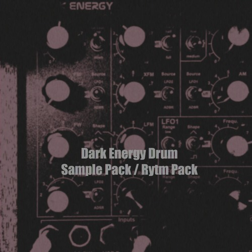 Dark Energy Drum Pack for Analog Rytm