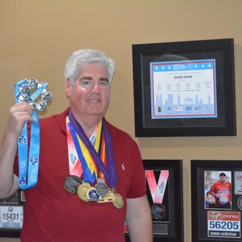 60: Running The Abbott World Marathon Majors: Talking with David Kahn