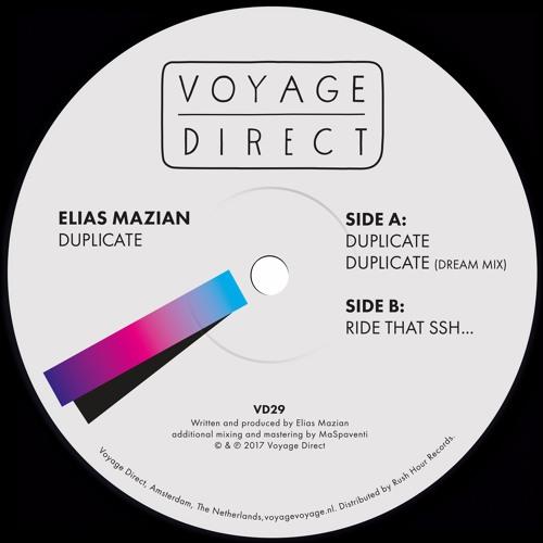 PREMIERE : Elias Mazian - Ride That Ssh...