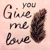 YOU GIVE ME LOVE    (FREE DOWNLOAD)