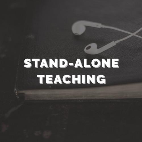 07 Stand-alone Teaching - The cross (by Joe Nolan)