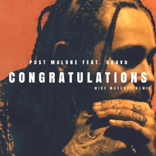 Post Malone Album Cover: Congratulations (Mike Mascott
