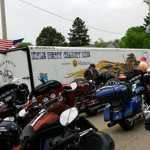 Rick Allen on Petty Charity Ride
