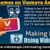 Making Memes On Vidmate Application