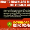 How To Download Music With The Vidmate App