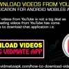 How To Download Videos From YouTube Using Vidmate Application For Android Mobiles And Tablets