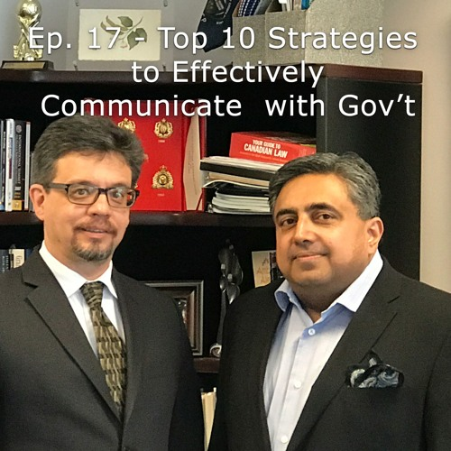 Ep 17 - How to lobby effectively, Pt. 4 | Top 10 Communication Strategies