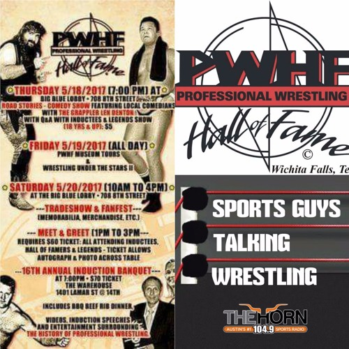 SGTW Live At Professional Wrestling Hall Of Fame 5-20-2017