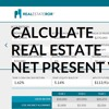Net Present Value Of Real Estate Investment