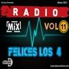 DJ COCO OFICIAL - RADIOMIX VOL 11 - FELICES LOS 4 (2017)