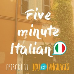 #11: How to pronounce an Italian menu (C and CH)