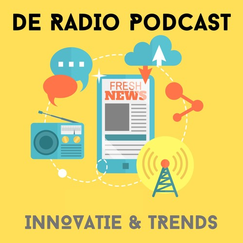 Jurre Bosman (NPO Radio) en Menno Koningsberger (Talpa Radio)