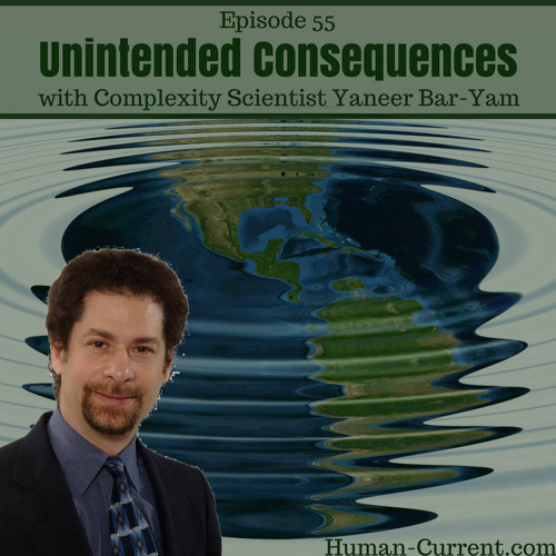 055 - Unintended Consequences with Complexity Scientist Yaneer Bar-Yam