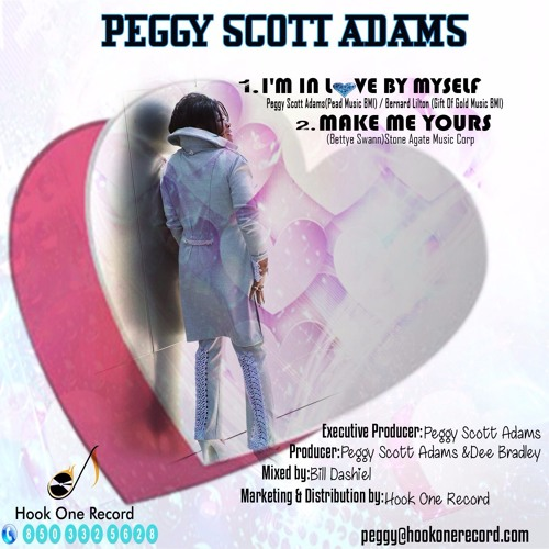Peggy Scott Adams I'M IN LOVE BY MYSELF (PROMO ONLY)