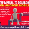 Manual To Download Vidmate On Android mobiles