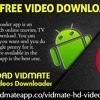 Vidmate Free Video Downloader App
