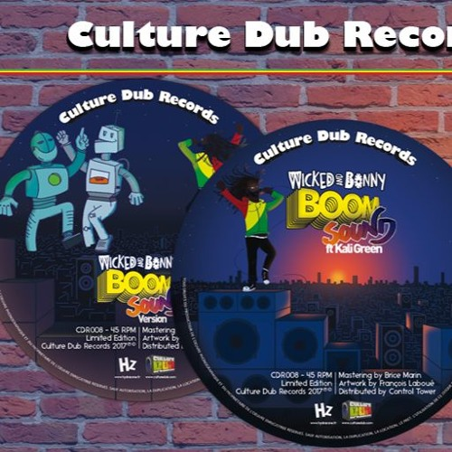 "Wicked and Bonny feat. Kali Green - 7"" Culture Dub Records CDR008"