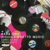 Para One On Rinse FR - Ghetto Music Special - 22/05/17