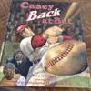Mrs. Harness reading Dan Gutman's book Casey Back at Bat 2M